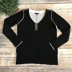 Romeo & Juliet Black Sweater Small NEW!